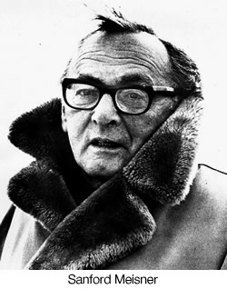 """Acting is behaving truthfully under imaginary circumstances."" Sanford Meisner"