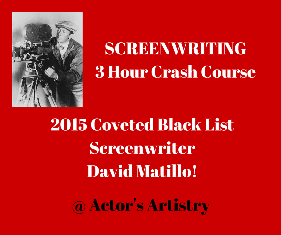 SCREENWRITING3 Hour Crash Course